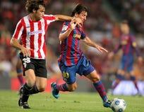 Leo Messi na ação Fotos de Stock Royalty Free