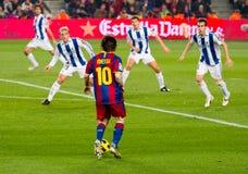 Leo Messi na ação Imagem de Stock Royalty Free