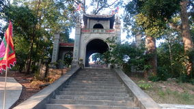LEO Pagoda & x27; s poort royalty-vrije stock afbeelding