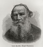 Leo Tolstoy Stock Photo