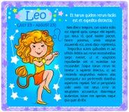 Leo Zodiac-Kind Lizenzfreies Stockbild