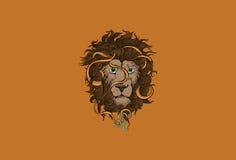 Leo Zodiac Sign Lizenzfreie Stockbilder