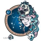 Leo. Zodiac sign Royalty Free Stock Image