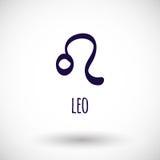 Leo zodiac sign  icon Royalty Free Stock Photography