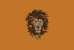 Leo Zodiac Sign. Royalty Free Stock Images