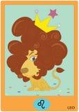 Leo zodiaka znak Obraz Royalty Free