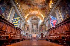 Leocorno-Kirche, Siena, Italien Stockfotografie