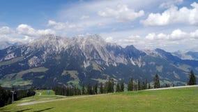 Leogang, Autriche Photos libres de droits