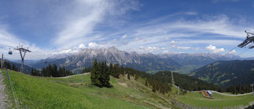 Leogang, Oostenrijk Stock Afbeeldingen