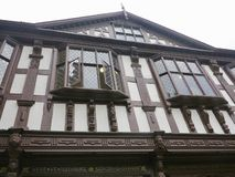Looking up at the building. Leominster Herefordshire England united kingdom royalty free stock photos
