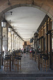 Leon Ισπανία: Δήμαρχος Plaza Στοκ φωτογραφίες με δικαίωμα ελεύθερης χρήσης