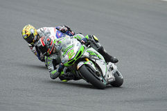 Leon camier, moto gp 2014 Stockfotografie