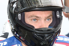 Leon Camier - Suzuki GSX-R 1000 - Crescent Stock Photo