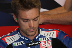 Leon Camier - Suzuki GSX-R 1000 - Crescent Stock Photos