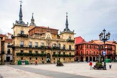 Leon, Castilië and León, Spain. Stock Image