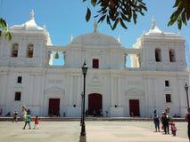 Leon Cathedral Lizenzfreies Stockfoto