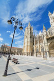 Leon Cathedral, Castilla y Leon, Spain. Royalty Free Stock Photos