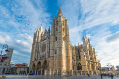 Leon Cathedral royalty free stock image