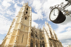 Leon Cathedral Stock Photography