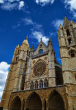Leon Cathedral Stock Images