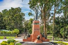 Leon Cortes Monument, La Sabana, San Jose, Costa Rica de Parque Photographie stock