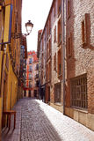 Leon downtown street by the way of Saint James Royalty Free Stock Photography