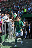 Rafael Marquez is officially presented as new player of CLUB LEON Stock Photo