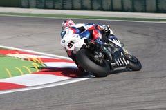 Leon Haslam BMW S1000 RR - BMW Motorrad Motorsport Stock Images