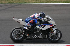 Leon Haslam BMW S1000 RR - BMW Motorrad Motorsport Stock Photos