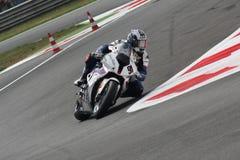 Leon Haslam BMW S1000 RR - BMW Motorrad Motorsport Imagem de Stock