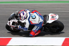 Leon Haslam BMW S1000 RR - BMW Motorrad Motorsport Stock Photography