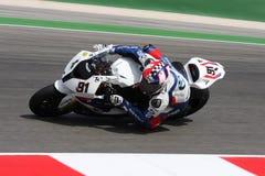 Leon Haslam BMW S1000 RR - BMW Motorrad Motorsport Royalty Free Stock Photos
