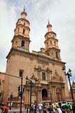 Leon Mexico Cathedral royalty free stock photo