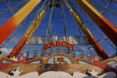 Leon, 13 Mexico-Januari, 2017: Carnaval-spel Stock Foto