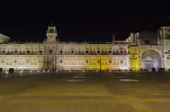 Leon by night. Night city landscape, Leon, Spain Royalty Free Stock Photography