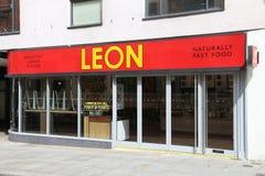 Leon restaurang Royaltyfria Bilder
