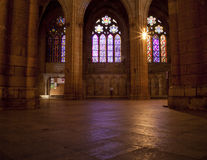 Leon's cathedral Stock Image