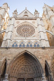 Leon's cathedral Royalty Free Stock Images
