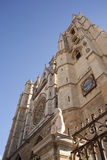 Leon\'s cathedral Stock Photo