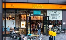 Leon Sandwich Bar foto de archivo libre de regalías