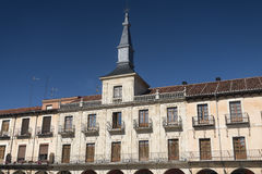 Leon Spain: Plaza Mayor Royalty Free Stock Images