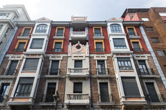 Leon Spain: residential building Royalty Free Stock Photos