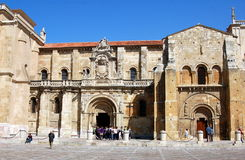 Leon, Spain: San Isidoro Basilica Royalty Free Stock Images