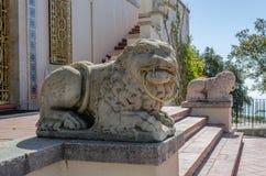 Leon-Statue Lizenzfreies Stockbild