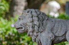 Leon statue stock photos