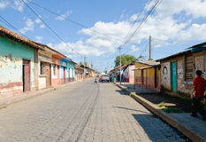 Leon street scene Nicaragua Stock Photo