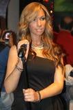 Leona Lewis an der Madame Tussauds lizenzfreie stockfotos