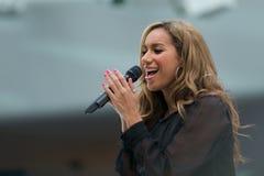 Leona Lewis im Konzert Stockfotografie