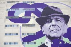 Leonard Cohen obrazy royalty free