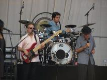 Leonard Cohen-band (Luca 2013) Royalty-vrije Stock Fotografie